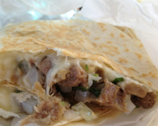 Quesadillas with Beef Tongue or Beef Head